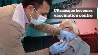 UK mosque opens its doors as Covid-19 vaccination centre