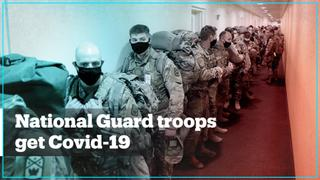 National Guard troops catch Covid-19