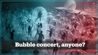 Covid-free bubble concert, anyone?