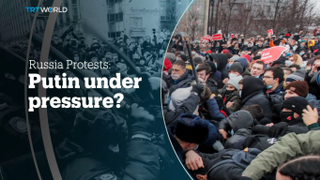 Russia protests: Putin under pressure?