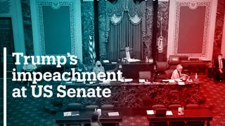 Impeachment article sent to US Senate, triggering trial