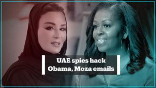 UAE hackers monitored emails between Michelle Obama, Sheikha Moza – report