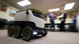 High-tech robot delivery service takes off in British town | Money Talks