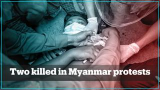 Myanmar protests turn deadly