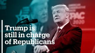 Trump to announce he's still in charge of Republicans