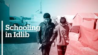 School in Idlib caters to visually impaired children