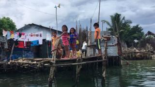 Climate Change: Rising sea levels swamping San Blas Islands