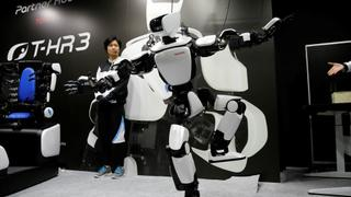Japan Robots: Technology replacing people as helpers