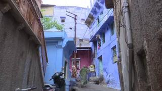 Brahmpuri Blueprint: Iconic blue town is changing colour and history