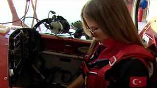 Flying High: Meet Turkey's first female aerobatics pilot
