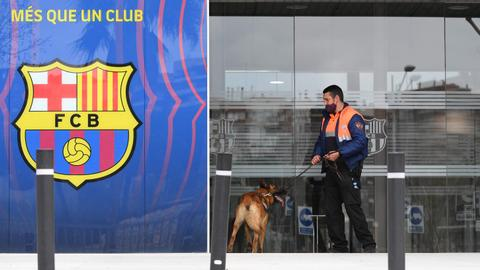 Police search FC Barcelona clubs offices, make several arrests