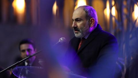 Armenia PM says ready for early elections