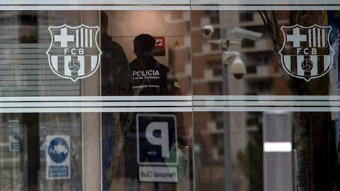 Former-Barcelona president released from custody after Camp Nou raid