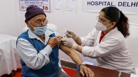 India vaccine drive expands to those over age 60 – latest updates