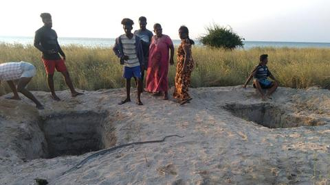 Outrage as Sri Lanka plans to bury Muslim Covid-19 victims on remote islet