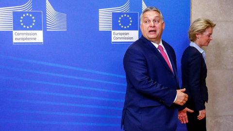 Hungary's Fidesz party leaves largest EU parliamentary group