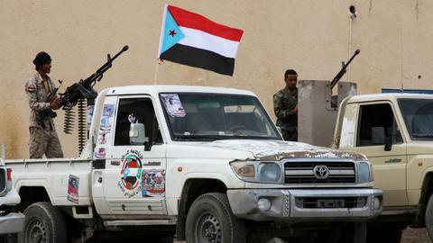 Several Yemeni separatist fighters killed or injured in Aden car bombing