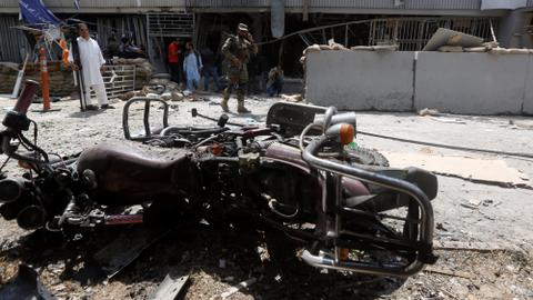 Suicide bombing in Kabul kills at least five people