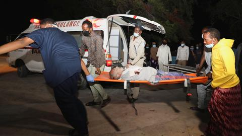 Several dead as car bomb targets restaurant in Somalia's Mogadishu