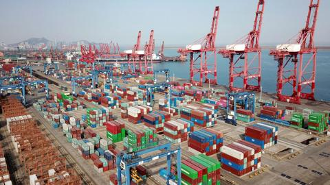 China's export growth at highest level in decades after hit from pandemic