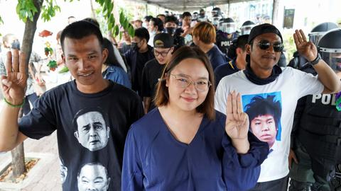 Thailand denies bail to three prominent anti-government protest leaders