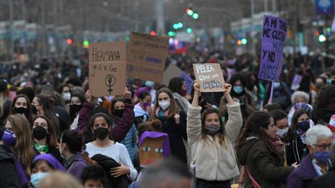 International Women's Day: Rallies and pledges amid raging pandemic