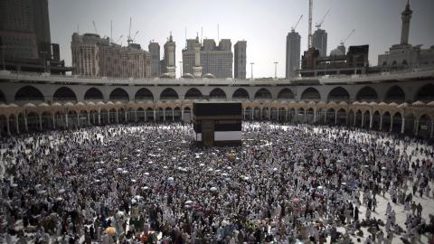More than two million Muslims begin Hajj pilgrimage in Mecca