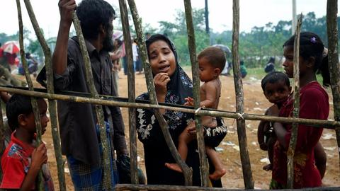 The murder, persecution and pursuit of the Rohingya