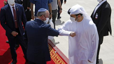 Israel and the UAE cooperate on anti-drone technology. Who is it aimed at?