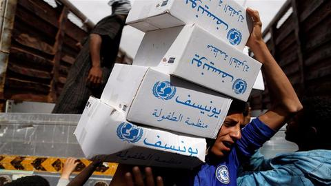 Over 20M people face food shortages in war-torn Yemen