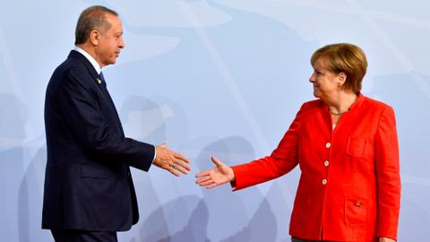 Turkey and Germany spar over EU accession talks