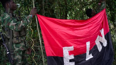 Colombia government and ELN rebels agree to ceasefire