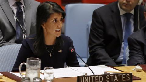 US: North Korean leader begging for war