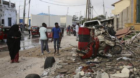 Somalia: Many dead in minibus explosion caused by landmine
