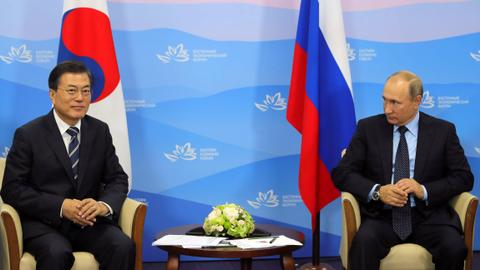 Putin urges North Korea talks, says sanctions not working
