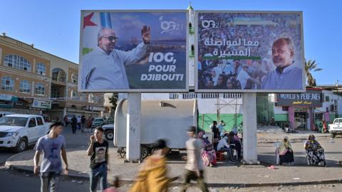 Djibouti votes in presidential election as Guelleh seeks fifth term