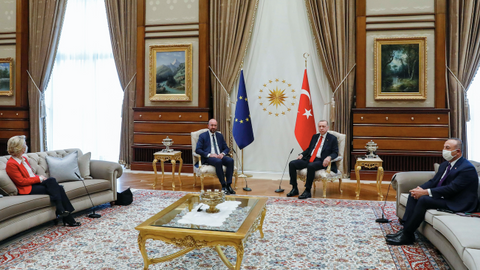 European officials: Turkey followed EU protocol during Ankara meeting