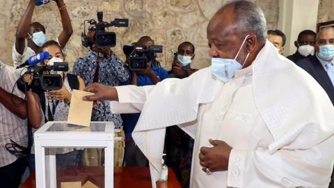 Djibouti's longtime leader Guelleh wins fifth term in office