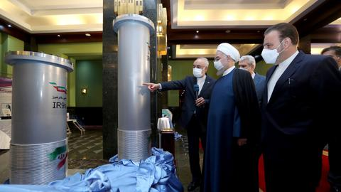 Iran tests advanced uranium enriching machines in new nuke deal breach