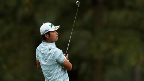 Japan's Hideki Matsuyama on the verge of historic Masters victory