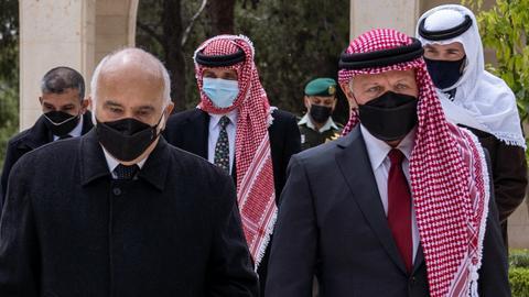 Jordan king, prince make first joint appearance since royal rift