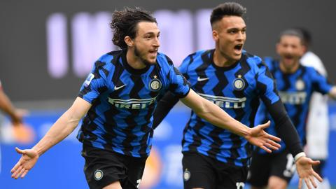 Inter Milan near Serie A title victory with win over Cagliari