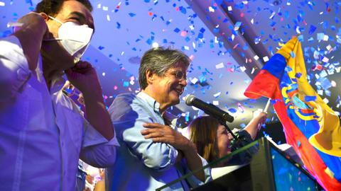 Ecuador's Lasso wins presidential runoff as Arauz concedes