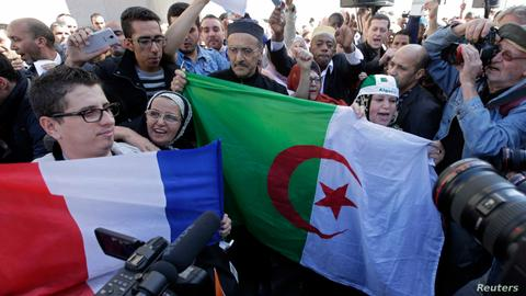 France seeks to ban the Algerian flag in wedding ceremonies