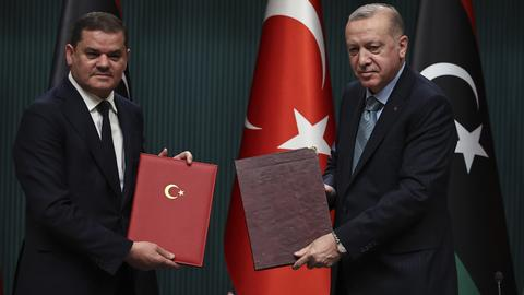 Erdogan: Protecting Libya's sovereignty Turkey's top goal