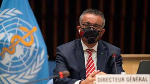 WHO's Tedros: Coronavirus pandemic 'a long way from over'