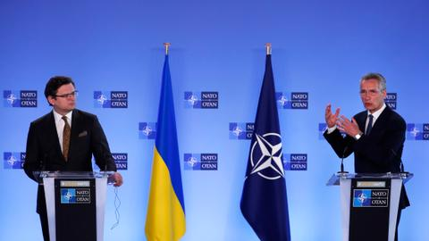 NATO: Russia must end Ukraine military build-up
