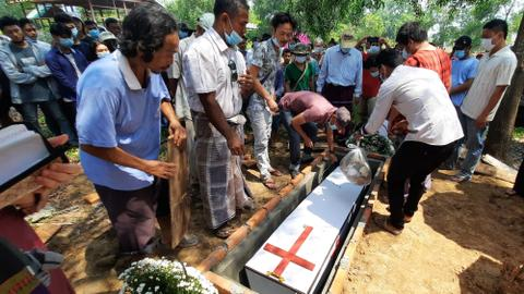 Is Myanmar's army selling the bodies of protesters to their relatives?