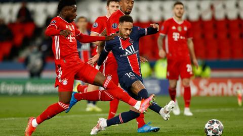 PSG beat Bayern Munich on away goals to reach Champions League semifinals
