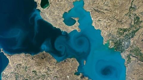 Photo of Turkey's Lake Van wins NASA competition